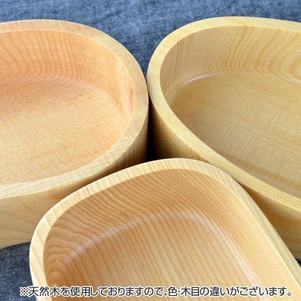 お弁当箱 くりぬき弁当箱 オーバル 410ml 一段 木製 ( 和風弁当箱 木 弁当箱 おすすめ )|colorfulbox|05