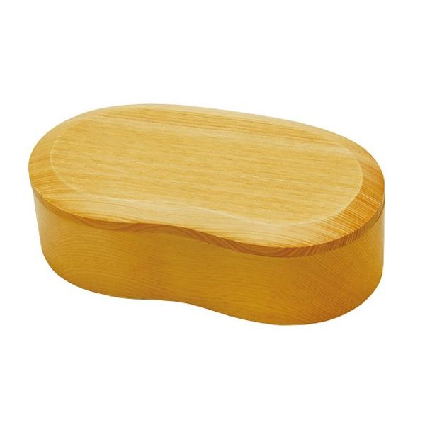 お弁当箱 くりぬき弁当箱 ビーンズ 430ml 一段 木製 ( 和風弁当箱 木 弁当箱 おすすめ )|colorfulbox|04