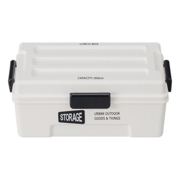 お弁当箱 1段 仕切付き STORAGE コンテナランチ 900ml ランチボックス ( レンジ対応 食洗機対応 弁当箱 男性 大容量 ドーム型 おしゃれ おすすめ ) colorfulbox 18