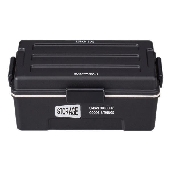 お弁当箱 1段 仕切付き STORAGE コンテナランチ 900ml ランチボックス ( レンジ対応 食洗機対応 弁当箱 男性 大容量 ドーム型 おしゃれ おすすめ ) colorfulbox 19