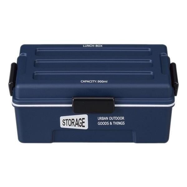 お弁当箱 1段 仕切付き STORAGE コンテナランチ 900ml ランチボックス ( レンジ対応 食洗機対応 弁当箱 男性 大容量 ドーム型 おしゃれ おすすめ ) colorfulbox 20