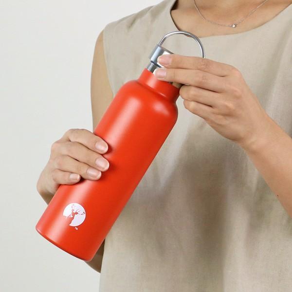 水筒 キャプテンスタッグ HDボトル ステンレス 直飲み 真空二重構造 保温・保冷 600ml ( ステンレスボトル 直飲み 保温 保冷 おすすめ )|colorfulbox|09