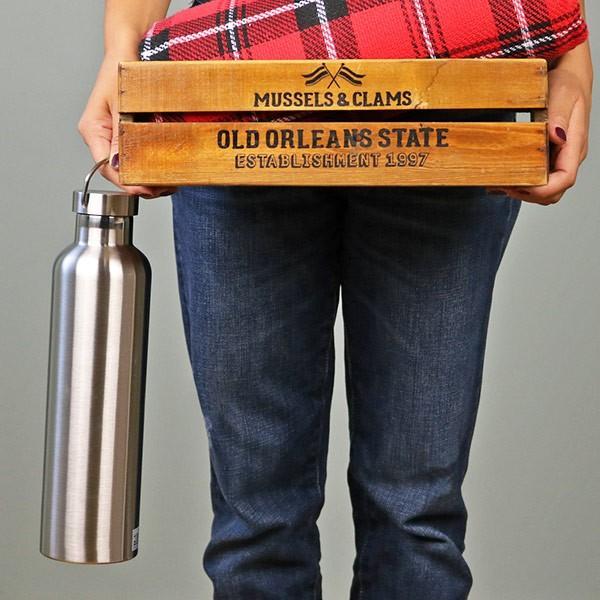 水筒 1リットル キャプテンスタッグ HDボトル ステンレス 直飲み 真空二重構造 保温・保冷 1L ( ステンレス 直飲み 保温 保冷 おすすめ )|colorfulbox|08