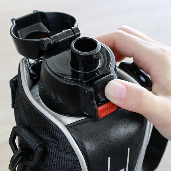 水筒 ステンレス 直飲み ワンタッチ ダイレクトステンレスボトル NEWフォルティ 1L カバー付 保冷専用 ( 1リットル ダイレクトボトル 保冷 おすすめ ) colorfulbox 12