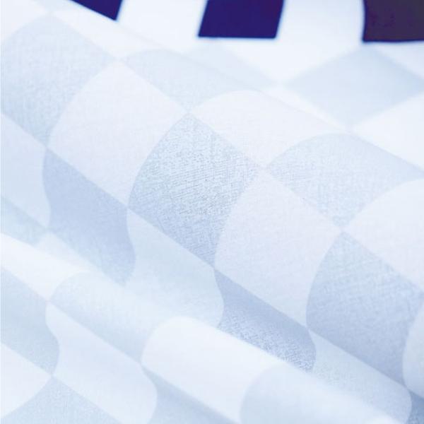 風呂敷 エコバッグ 70cm 中判 二巾 ハレ包み 市松 コン ( 風呂敷き 中判風呂敷 ふろしき )|colorfulbox|05