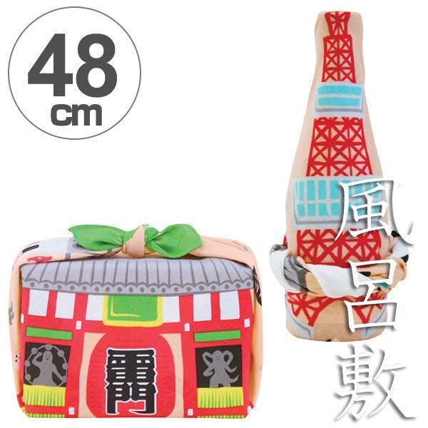 風呂敷 中巾 福コチャエ 東京サーモンピンク 48cm ランチクロス ( ふろしき 日本製 お弁当包み )|colorfulbox