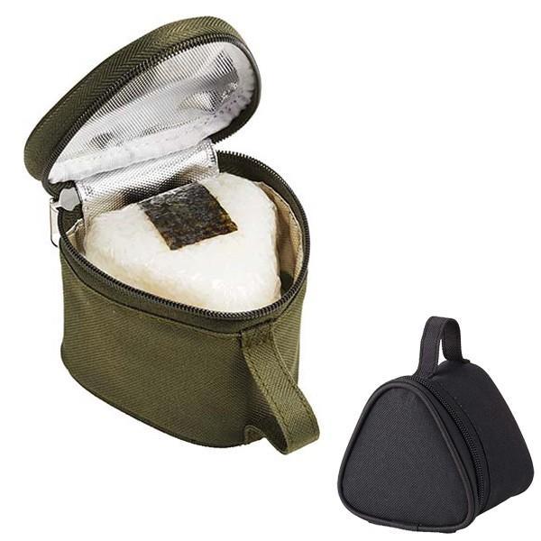 保冷おにぎりケース おにぎり2個用 保冷ランチバッグ シンプル ( おにぎりバッグ おにぎりポーチ 保冷バッグ )