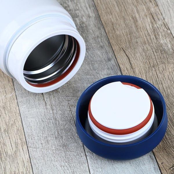 保温弁当箱 RWスープジャー POLARBEAR フードポット しろくま ステンレス製 320ml ( お弁当箱 スープポット 保温 保冷 おすすめ ) colorfulbox 04