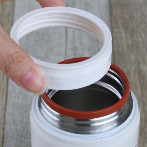 保温弁当箱 RWスープジャー POLARBEAR フードポット しろくま ステンレス製 320ml ( お弁当箱 スープポット 保温 保冷 おすすめ ) colorfulbox 06