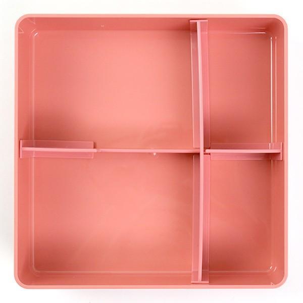 お弁当箱 ジェルクール 行楽弁当箱 お重 1段 オードブルボックス ( 弁当箱 ランチボックス 日本製 おすすめ ) colorfulbox 04