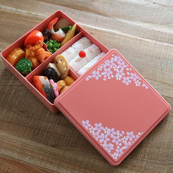 お弁当箱 ジェルクール 行楽弁当箱 お重 1段 オードブルボックス ( 弁当箱 ランチボックス 日本製 おすすめ ) colorfulbox 08