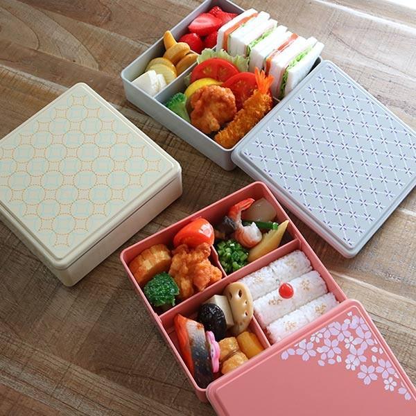 お弁当箱 ジェルクール 行楽弁当箱 お重 1段 オードブルボックス ( 弁当箱 ランチボックス 日本製 おすすめ ) colorfulbox 09