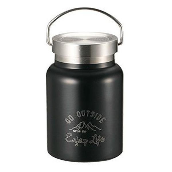 保温弁当箱 スープジャー モンテ キャプテンスタッグ CAPTAINSTAG HDフードポット 400ml 保温 保冷 ( 真空二重構造 スープボトル ステンレス スープマグ )|colorfulbox|12