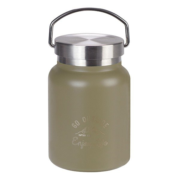 保温弁当箱 スープジャー モンテ キャプテンスタッグ CAPTAINSTAG HDフードポット 400ml 保温 保冷 ( 真空二重構造 スープボトル ステンレス スープマグ )|colorfulbox|13