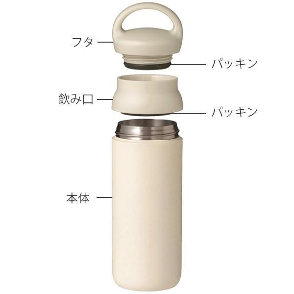 水筒 500ml キントー KINTO マグボトル デイオフタンブラー ステンレス ( 保温 保冷 取っ手付き ステンレス製 ステンレスボトル ボトル おしゃれ )|colorfulbox|05