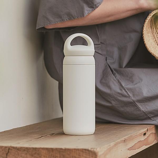 水筒 500ml キントー KINTO マグボトル デイオフタンブラー ステンレス ( 保温 保冷 取っ手付き ステンレス製 ステンレスボトル ボトル おしゃれ )|colorfulbox|06