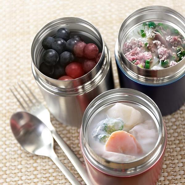 スープジャー 保温弁当箱 ルランチ 300ml フードポット ステンレス ( スープボトル 保温 保冷 おすすめ )|colorfulbox|02