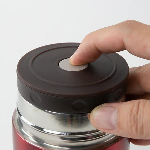スープジャー 保温弁当箱 ルランチ 300ml フードポット ステンレス ( スープボトル 保温 保冷 おすすめ )|colorfulbox|05
