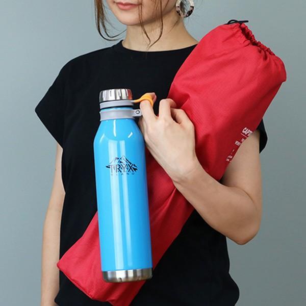 水筒 ステンレス 直飲み 1L トライエックス ダイレクトボトル 保冷 保温 ( スリム ステンレスボトル スリムボトル おすすめ ) colorfulbox 05