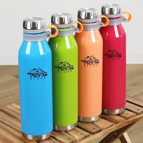水筒 ステンレス 直飲み 1L トライエックス ダイレクトボトル 保冷 保温 ( スリム ステンレスボトル スリムボトル おすすめ ) colorfulbox 10