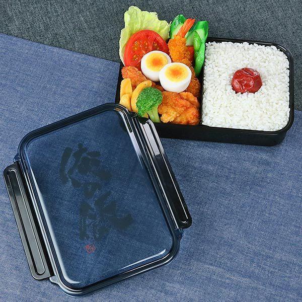 お弁当箱 1段 ガッツリ パッキン付 1000ml ( 弁当箱 大容量 仕切り付 1L 日本製 おすすめ )|colorfulbox|06