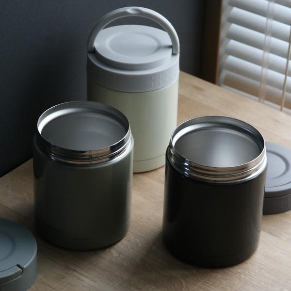 スープジャー ENJOY フードポット ハンドル付き 350ml ( お弁当箱 保温 保冷 スープポット )|colorfulbox|08