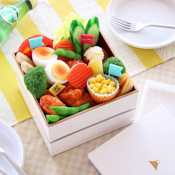 重箱 富士山 二段重 シール蓋付 1600ml ( お重箱 日本製 ピクニック )|colorfulbox|05