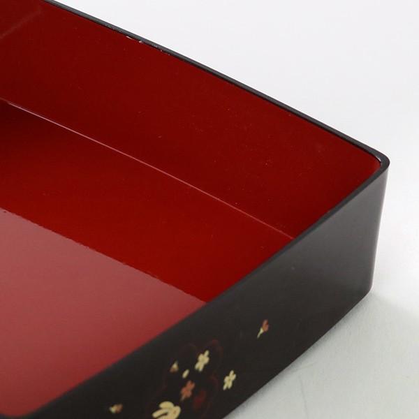 お弁当箱 6.5三段重 溜 夢春秋 シール蓋付 4800ml ( お重 ファミリーランチボックス 日本製 おすすめ )|colorfulbox|05