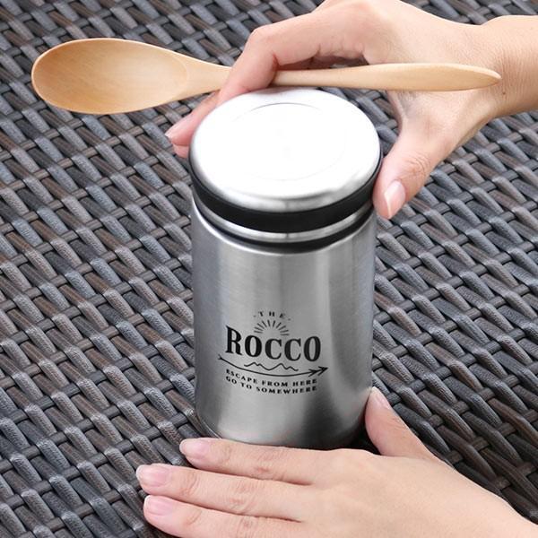 保温弁当箱 フードジャー ロッコ フードコンテナ 380ml ( 保温 保冷 フードコンテナ スープジャー おすすめ )|colorfulbox|06