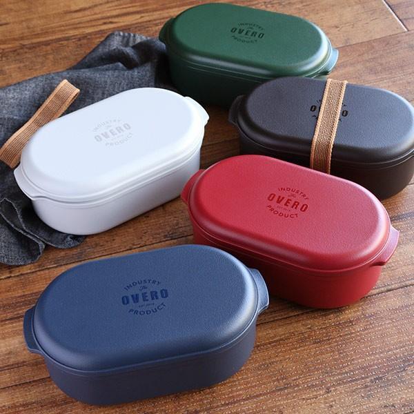 お弁当箱 オベロ ワイド ランチボックス 1段 650ml 日本製 ( 弁当箱 電子レンジ対応 食洗機対応 おすすめ ) colorfulbox 04