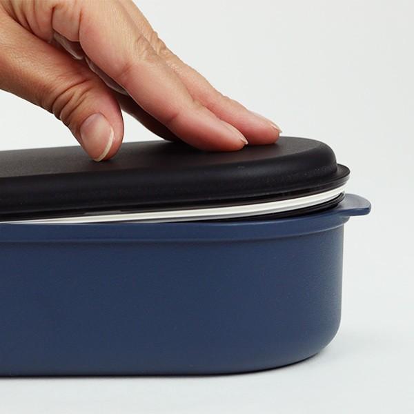 お弁当箱 オベロ ワイド ランチボックス 1段 650ml 日本製 ( 弁当箱 電子レンジ対応 食洗機対応 おすすめ ) colorfulbox 06