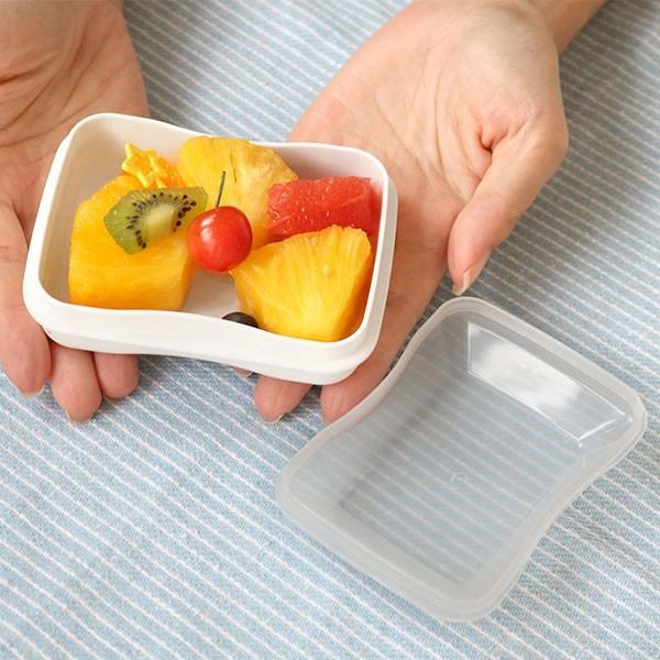 お弁当箱 1段 2段 2way クチーナ セパレートランチボックス 500ml〜670ml ( 弁当箱 レンジ対応 食洗機対応 日本製 おすすめ )|colorfulbox|11