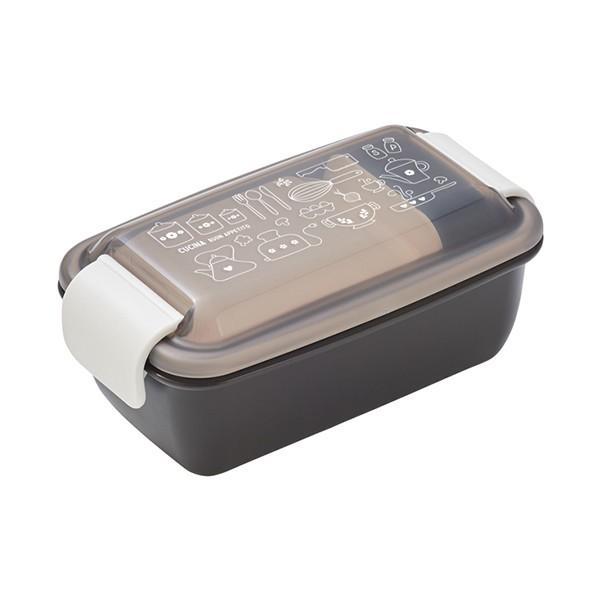 お弁当箱 1段 2段 2way クチーナ セパレートランチボックス 500ml〜670ml ( 弁当箱 レンジ対応 食洗機対応 日本製 おすすめ )|colorfulbox|17