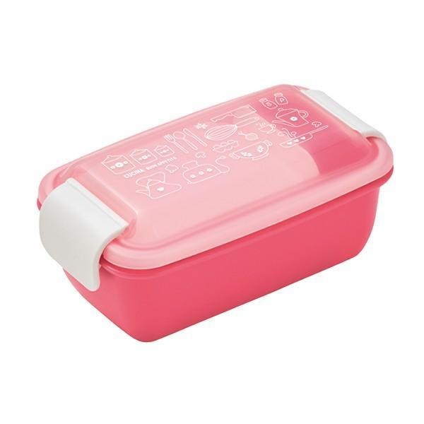 お弁当箱 1段 2段 2way クチーナ セパレートランチボックス 500ml〜670ml ( 弁当箱 レンジ対応 食洗機対応 日本製 おすすめ )|colorfulbox|19