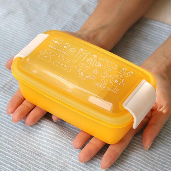 お弁当箱 1段 2段 2way クチーナ セパレートランチボックス 500ml〜670ml ( 弁当箱 レンジ対応 食洗機対応 日本製 おすすめ )|colorfulbox|10