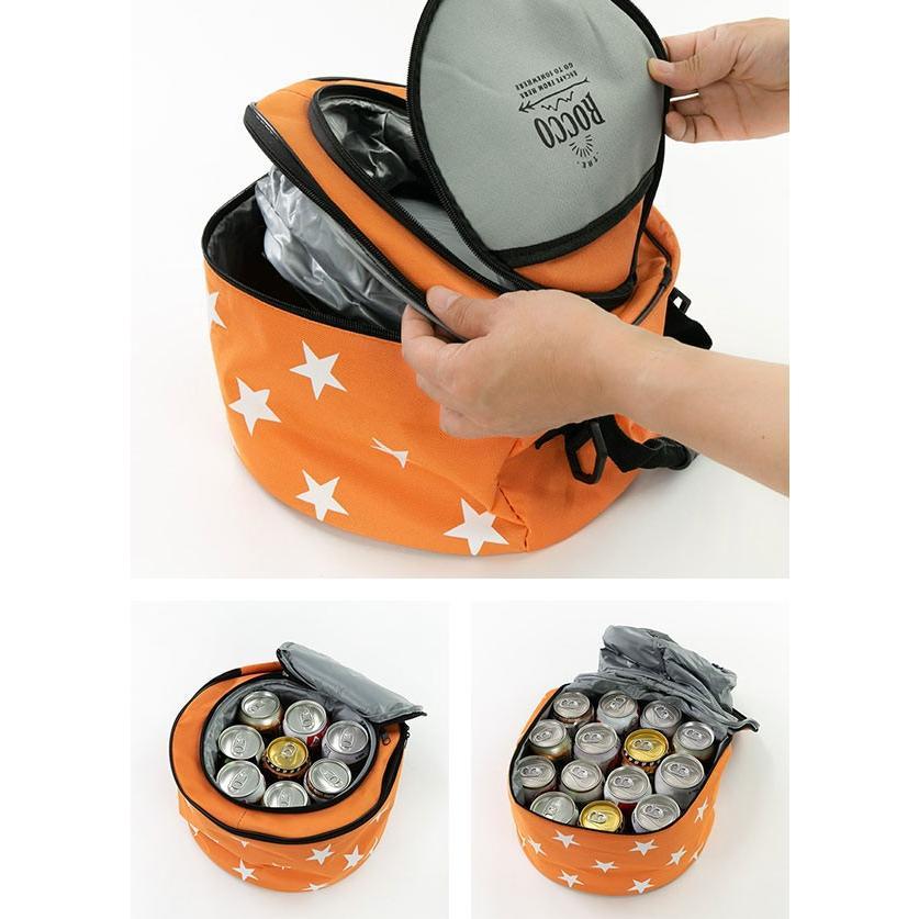 コンロ バーベキューセット 保冷バッグ ロッコ バッグ付き 星 ( バーベキューグッズ コンパクト BBQ クーラーバッグ ) colorfulbox 04