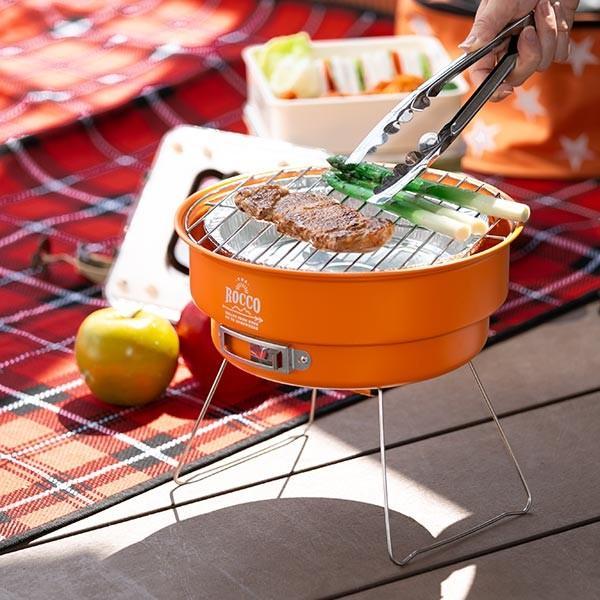 コンロ バーベキューセット 保冷バッグ ロッコ バッグ付き 星 ( バーベキューグッズ コンパクト BBQ クーラーバッグ ) colorfulbox 09