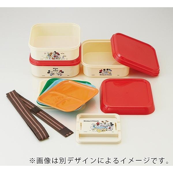 お弁当箱 3段 取り皿付き トイストーリー ランチボックス コンパクト 3段ランチボックス 4500ml ( キャラクター 日本製 ピクニックランチボックス 弁当箱 ) colorfulbox 04