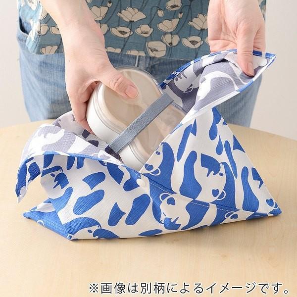 あずま袋 ランチバッグ Finlayson mini東袋 POP ドット 日本製 ( 東袋 風呂敷 お弁当 フィンレイソン ) colorfulbox 04