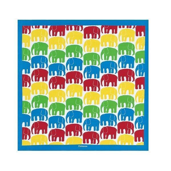 風呂敷 75cm ふろしき クロス Finlayson ELEFANTTI ( バッグ 京都 包み お弁当包み ふろしきバッグ 75センチ ) colorfulbox 07