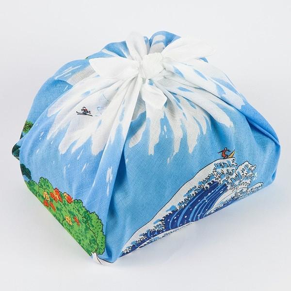 風呂敷 50cm 浅山美里 ふろしき 富士山 綿 ( お弁当包み 50センチ 綿 お包み 小風呂敷 金封包み お弁当 ) colorfulbox 05
