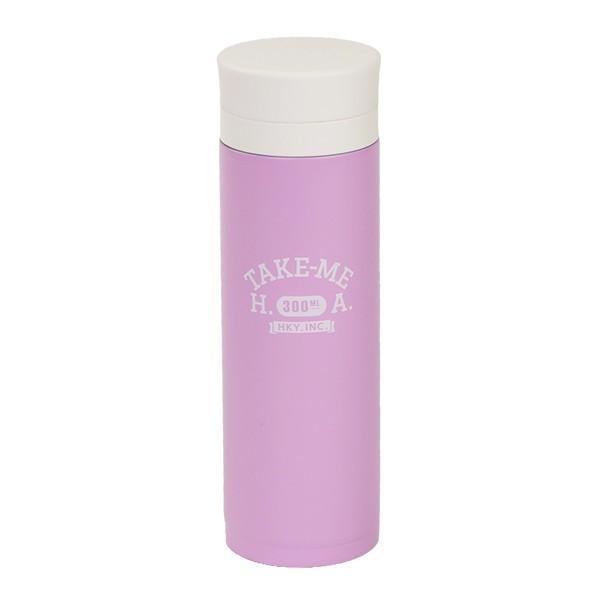水筒 ステンレス マグボトル 300ml 軽量 TAKE-ME ステンレスボトル ( 保温 保冷 テイクミー ステンレス製 おすすめ ) colorfulbox 14