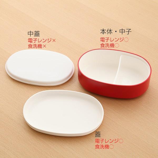 お弁当箱 1段 米もん 480ml 小判型 ( ランチボックス レンジ対応 食洗機対応 女子 弁当箱 おすすめ おすすめ ) colorfulbox 11