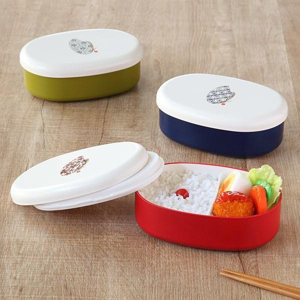 お弁当箱 1段 米もん 480ml 小判型 ( ランチボックス レンジ対応 食洗機対応 女子 弁当箱 おすすめ おすすめ ) colorfulbox 16