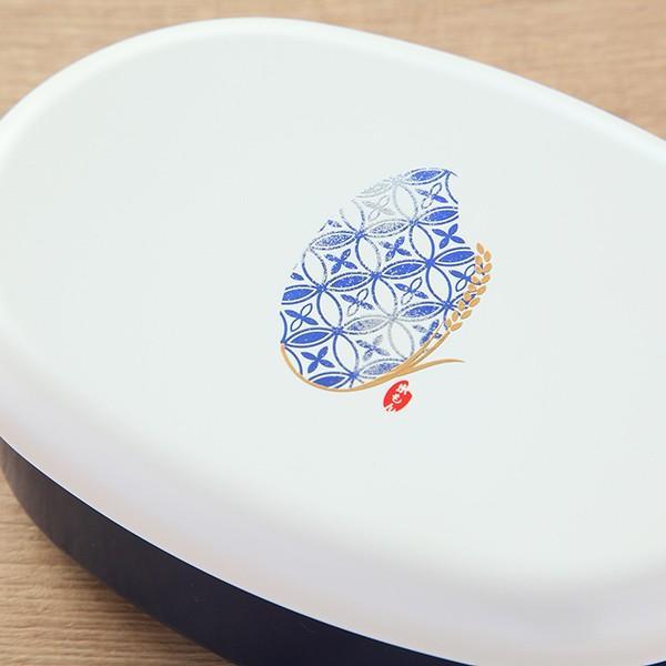 お弁当箱 1段 米もん 480ml 小判型 ( ランチボックス レンジ対応 食洗機対応 女子 弁当箱 おすすめ おすすめ ) colorfulbox 10