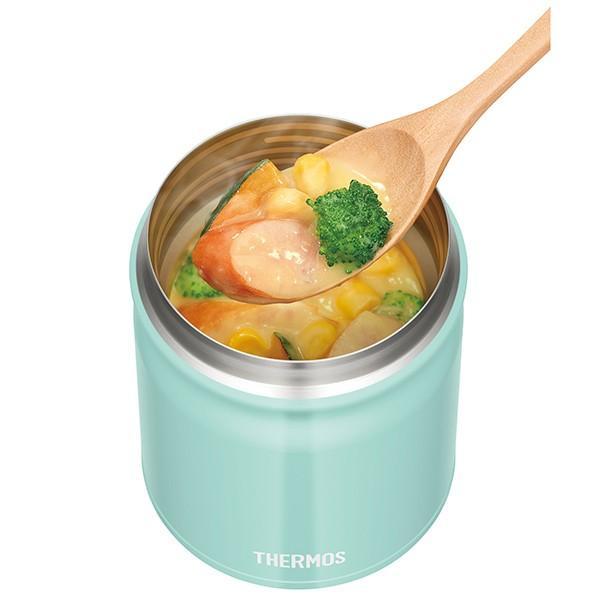 保温弁当箱 スープジャー サーモス thermos 真空断熱スープジャー 300ml JBT-300 ( フードコンテナ お弁当箱 保温 保冷 弁当箱 ) colorfulbox 03