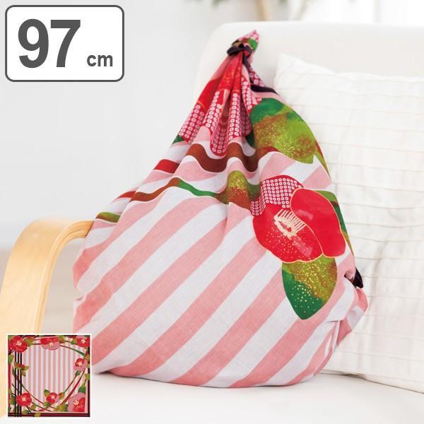 風呂敷 97cm ディアレディー 椿 ( ふろしき 風呂敷き 大判風呂敷 ) colorfulbox