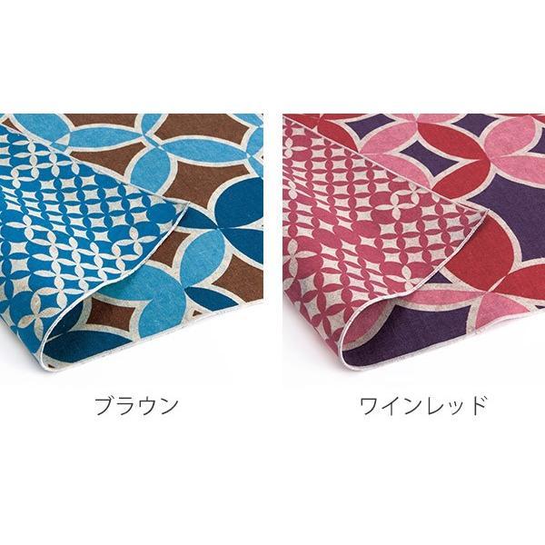 風呂敷 アタラシキイニシエ両面 shippou 108cm ( ふろしき 風呂敷き 大判風呂敷 ) colorfulbox 03