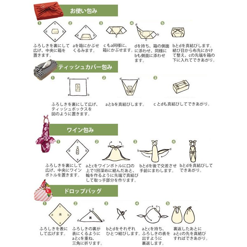 風呂敷 自遊布綿大ふろしき 日本の夏 118cm ( ふろしき 大判 大風呂敷 ) colorfulbox 06