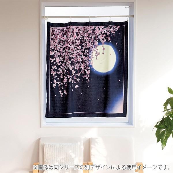風呂敷 自遊布綿大ふろしき 夜桜うさぎ 118cm ( ふろしき 大判 大風呂敷 )|colorfulbox|02